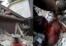 Haiti'de Deprem