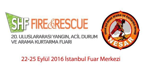 20. ISAF Safety& Rescue Fuarı 22 Eylül'de Başlıyor